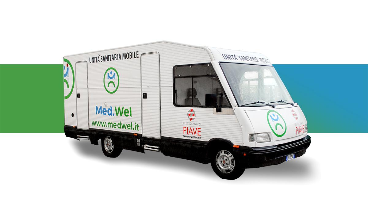 L'unità mobile di Med.Wel