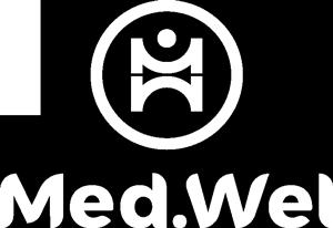 Logo Med.Wel bianco
